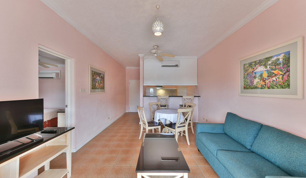 Superior One Bedroom Apartment – Pool View